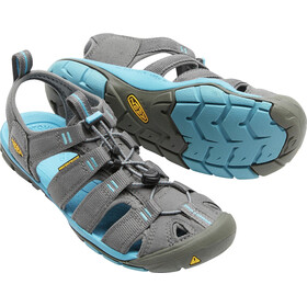 Keen Clearwater CNX Sandalias Mujer, gargoyle/norse blue